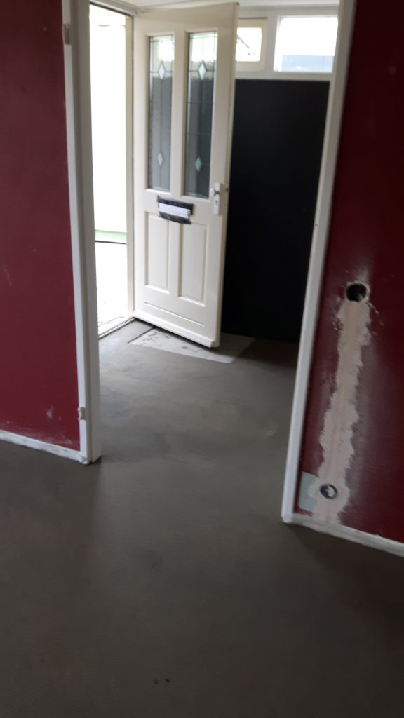 Cementdekvloer panningen 1