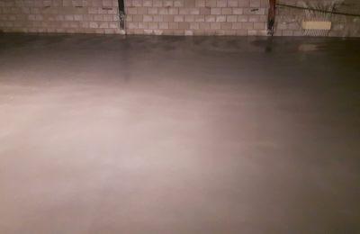 Betonvloer storten en afwerken Liessel
