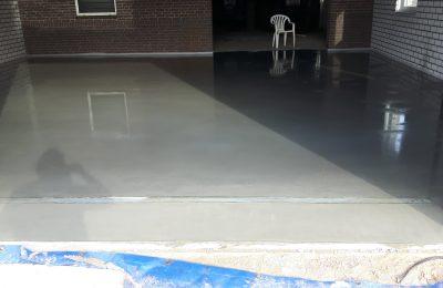 Betonvloer storten en afwerken te Liessel