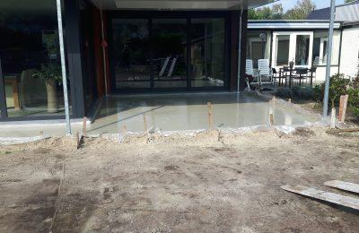 betonvloer + fundering weert